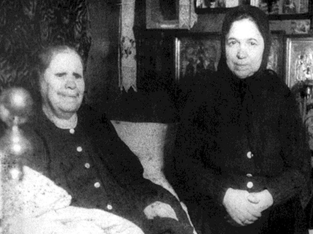 Фотография блаженной старицы Матроны. Матрона Дмитриевна Никонова. 1881г. - 2 мая 1952 г
