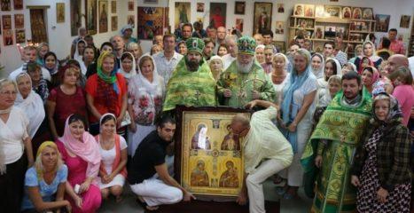 """Икона Пресвятой Богородицы """"Материнство"""""""