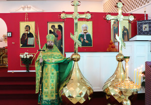 К празднику Пасхи для нашего храмы были приобретены малые купола
