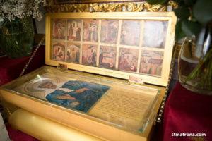 Часть мощей святой Матроны Московской в Майами