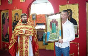 Благословение Святой горы Афон да прибудет на Храме Святой Матроны Московской!