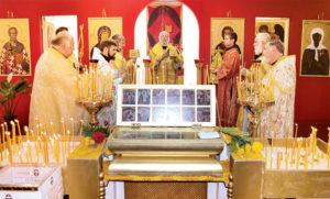 В храм прибыли мощи небесной покровительницы – святой Матроны Московской