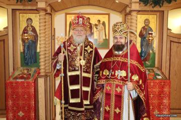 Три дня служения Митрополита Илариона в Николаевском монастыре в Форт-Майерсе