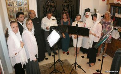 Верующие Майами молитвенно встретили Рождество Христово