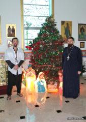 Собор святой Матроны посетил знаменитый российский певец Стас Михайлов