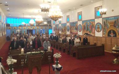 Благочинный Флориды принял участие в праздновании храмового дня Благовещенской церкви в Майами