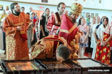 Для Майамского собора освящены новые иконы