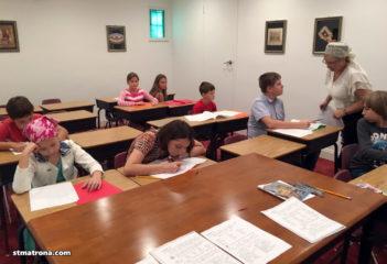 В детской школе Майамского собора уже занимается почти 40 детей