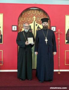 Майамский собор посетил гость из Моравии
