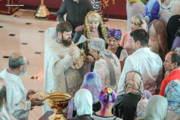 Праздник Крещения Господня в Майамском соборе