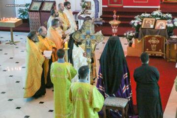 Духовенство всех Православных Церквей Флориды молитвенно отметило праздник Торжества Православия в Майамском соборе