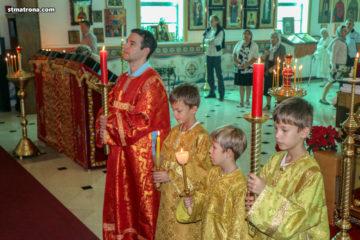 7 лет со дня открытия и первого богослужения в храме святой Матроны в Майами