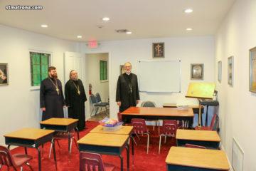 Гости Майамского собора: участники Зимнего Лагеря Сербской Православной Церкви