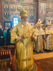 Благочинный Флориды поздравил настоятеля Джорданвилльского Свято-Троицкого монастыря с рукоположением в сан епископа