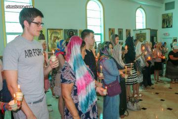 Таинство Елеосвящения (Соборование) в Майамском соборе