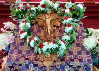 Богослужение Крестопоклонной недели