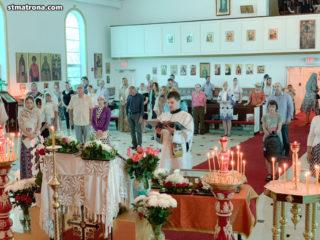 Верующие Майами поклонились мощам святых Киприана и Иустины