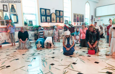 В день Пятидесятницы в Майамском соборе совершено праздничное богослужение