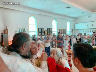 Праздничное богослужение в день Преображения Господня