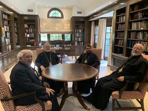 Состоялась встреча иерархов Вселенского и Московского Патриархатов