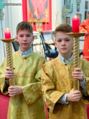 В Майамском соборе молитвенно отметили 8-ю годовщину открытия храма и день тезоименитства настоятеля