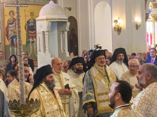 Настоятель собора принял участие в праздновании Эпифании в городе Тарпон-Спрингс