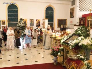 Верующие Майами торжественным богослужением и молитвой встретили праздник Рождества Христова