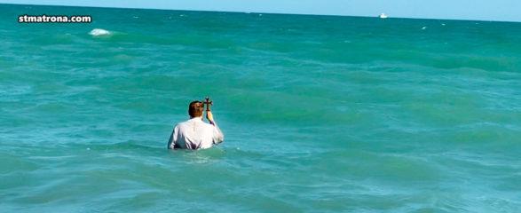 Пятый год подряд в Майами совершено освящение вод океана