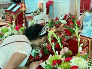 Богослужение на праздник Воздвижения Честного Креста Господня