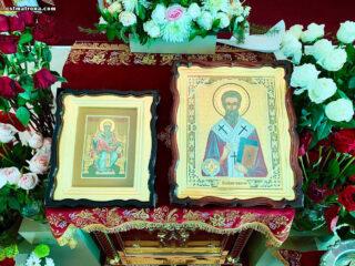 Богослужение по случаю 9-й годовщины открытия храма, день тезоименитства отца настоятеля и память святителя Спиридона