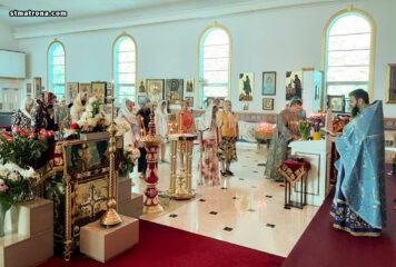 В соборе святой Матроны в Майами молитвенно отметили Сретение Господне