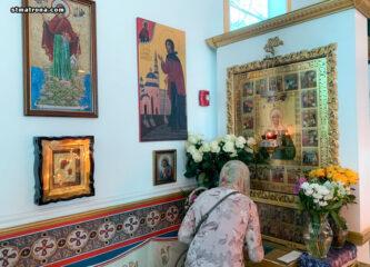 На праздник Благовещения Богородицы в Майамском соборе совершили Божественную литургию