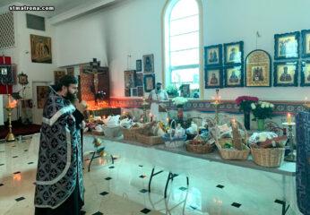 В соборе святой Матроны помолись за всех усопших православных христиан