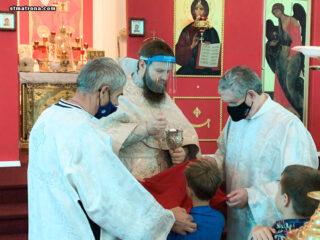 На Вознесение Господне в соборе святой Матроны Московской совершили Божественную литургию