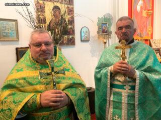 Божественная литургия в день Святого Духа