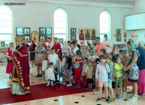 Перед началом нового учебного года в соборе святой Матроны Московской вознесли молитвы об учащихся